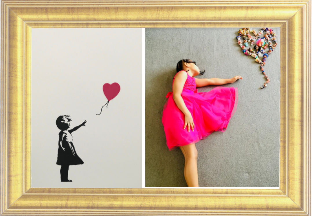 Girl with Balloon by Banksy 2002 (Year 4)