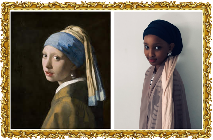 Girl with a Pearl Earring, Johannes Vermeer 1665,  (Year 4)