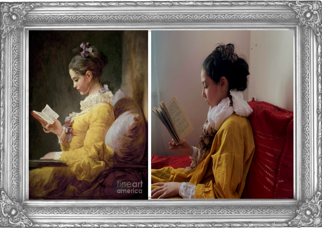 A Young Girl Reading Jean-Honoré Fragonard 1770 (Year 6)