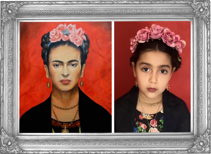 Selfportrait by Frida Kahlo (Year 2)