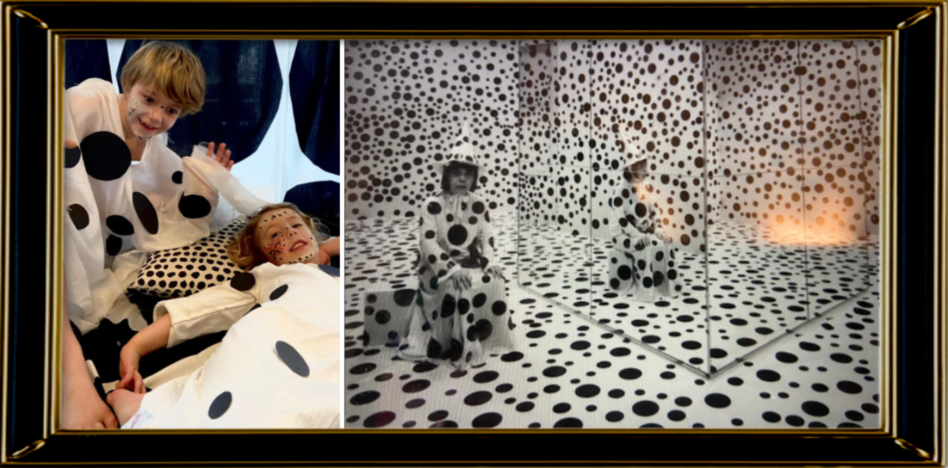 Dots obsession by Yayoi Kusama 2003 (Reception)