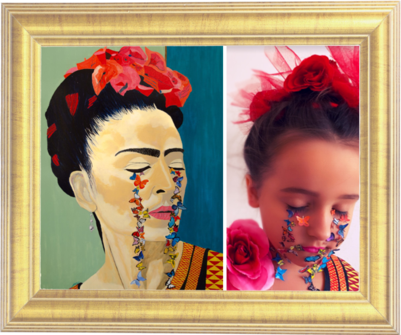 Frida Kahlo Butterfly Cry by John MacDonald (Reception)