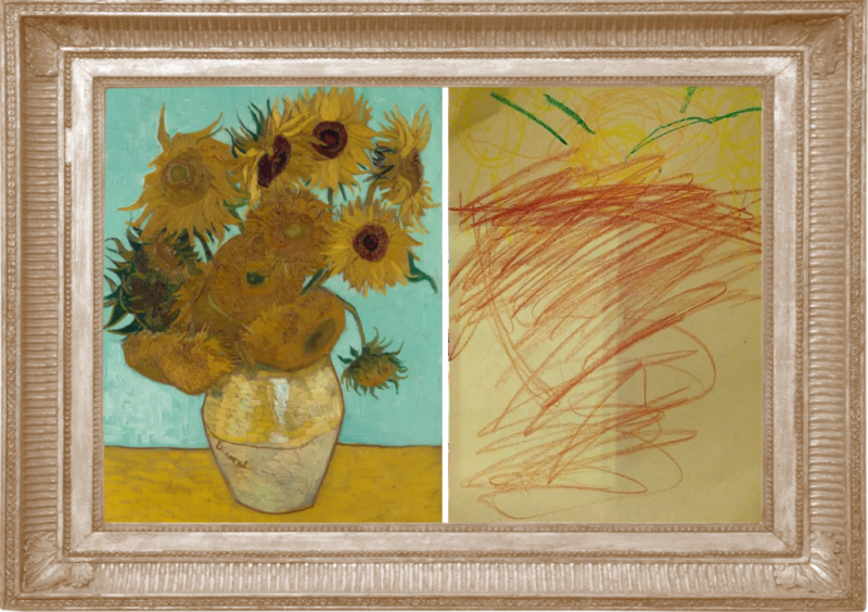 Sunflowers by Vincent Van Gogh (Reception)