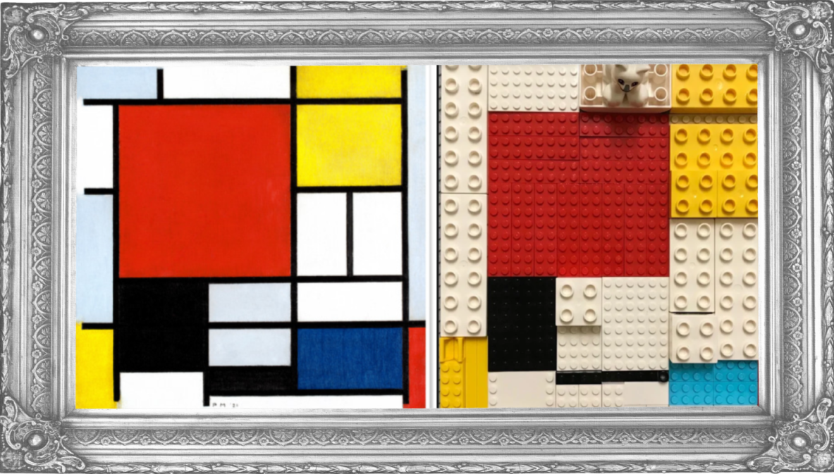 Composition with Red, Yellow, Blue and Black by Piet Mondrian (Reception)