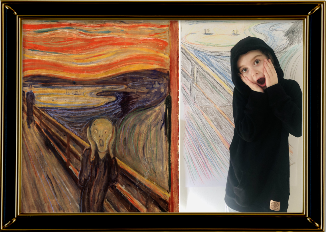 The Scream by Edvard Munch 1893 (Year 3)